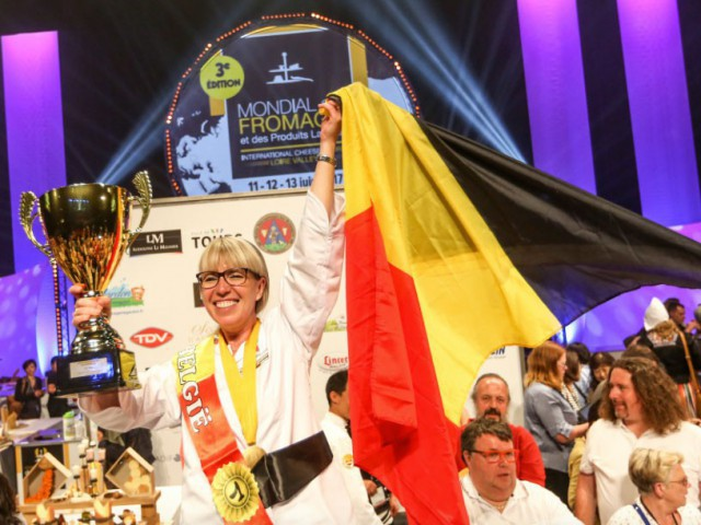 Nathalie is a World Champion